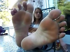 Footjob, Footjob two, Xhamster.com