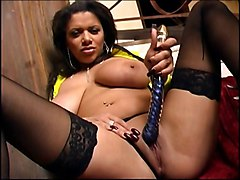 Bus, British, Black, Stockings, Gorgeous alexis silver, Xhamster.com