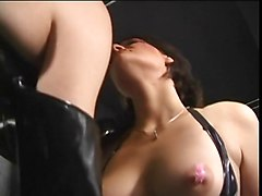 Leather, Big tits in leather, Xhamster.com
