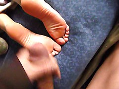 Wife, Angel dark cum on feet, Xhamster.com
