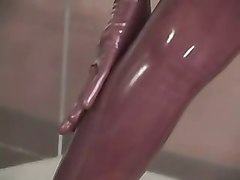 Latex sex clips