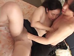 Japanese mother and boy temptation part, Xhamster.com