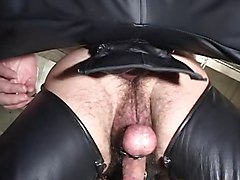 Bus, Leather, Leather gay, Xhamster.com