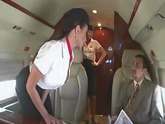Bus, Stewardess, Riley evans stewardess, Drtuber.com