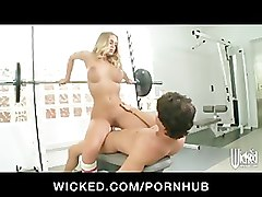 Blonde, Ass, Gym, Big Ass, Nicole aniston fuck in office, Pornhub.com