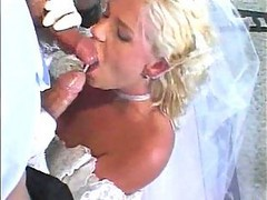 Bride, Swallow, Wedding, Thifany minx anal, Drtuber.com