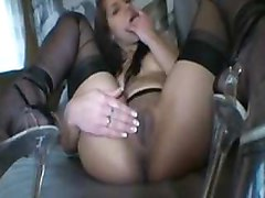 Black, Stockings, Angel rivas and rocco siffredi do hard gob the, Pornhub.com