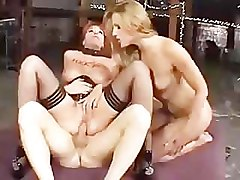 Threesome, Kylie ireland isis love double anal, Pornhub.com