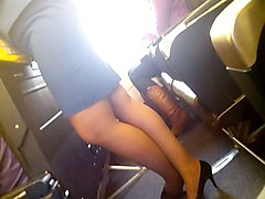 Stewardess, Yasmine stewardess, Xhamster.com