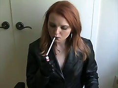 Smoking, Leather, Leather anal, Xhamster.com