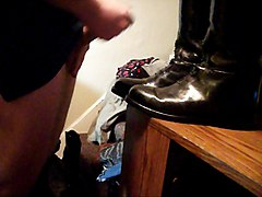 Boots, Neck handcuffed, Xhamster.com