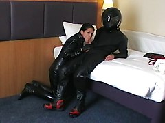 Black, Leather, Leather bound dykes, Xhamster.com