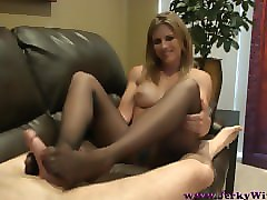 Panties, Footjob, Pantyhose, Black footjob, Pornhub.com
