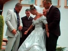 Gangbang, Bride, Wedding, Wedding photo, Gotporn.com