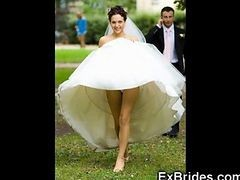 Upskirt, Bride, Wedding, Bride cheating on wedding night, Gotporn.com