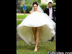 Upskirt, Bride, Wedding, Crossdresser bride, Gotporn.com