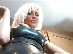 Smoking, Leather, Lesbians in leather, Xhamster.com