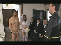 Asian, Gangbang, Japanese, Bride, Lisa ann wedding, Xhamster.com