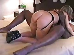 Amatrice, Blonde, Interracial, Ejaculation Interne, Interracial italien, Xhamster.com