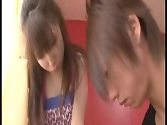 Cute, Japanese sister abused by her brother, Xhamster.com
