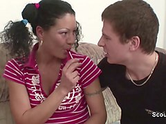 Caught, Step mom and step son can't fight the temptation, Xhamster.com
