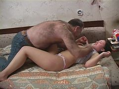 Old Man, Young nurse takes good care of an old man in a, Xhamster.com