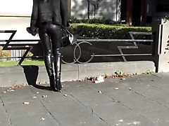 Boots, Leather, Slave leather, Xhamster.com
