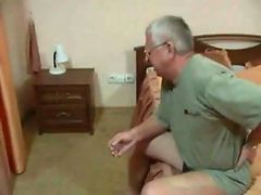 French, Old Man, Nic boy faking old man, Gotporn.com