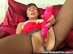 British, Dildo, Georgie plays with her fat pussy, Pornhub.com