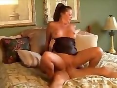 Caught, Milf, Nelly in sexy corset shows her charming pussy, Pornhub.com