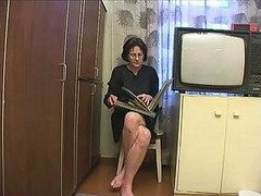 Mom, Russian, Big boobs mom and son sleeping sex bed, Xhamster.com