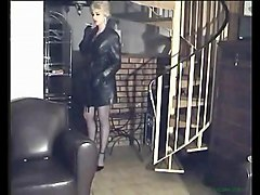 Leather, Boots leather, Xhamster.com