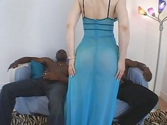 Interracial, Milf, Threesome, Mom interracial son, Xhamster.com
