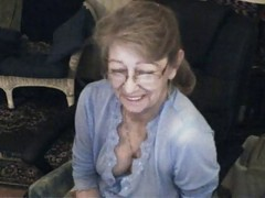 Granny, Glasses, Ass, Blonde glasses, Xhamster.com