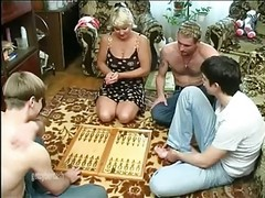Gangbang, Wife, Mature, Workers and bosses wife, Xhamster.com