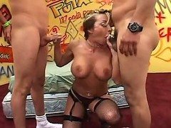 Anal, Gangbang, Mexican, Blackmailing mexican milf, Xhamster.com