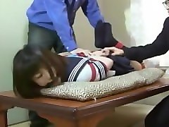 Gagging, Tied, Japanese schoolgirls medical checking part 2, Pornhub.com