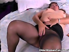 Latine, Culotte, Collants, Nylon, Fist mamie, Pornhub.com