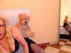 Blonde, Game, Panties, Pantyhose, Girl playing the omegle game, Pornhub.com