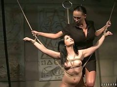 Slave, Rita faitoyona and mandy bright, Gotporn.com