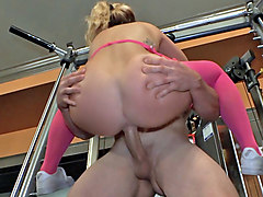Train, Double fuck for amy brooke as ashley blue, Hclips.com