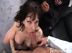 Gangbang, Housewife, Wife, Carrie-anne-moss, Gotporn.com