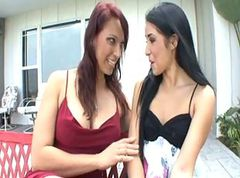 Lesbian, Stepmom catches daughter masterbating, Xhamster.com