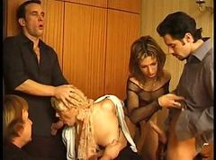 French, Orgy, German leather orgy, Xhamster.com