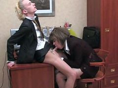 Office, Crossdresser, Dress, Office humiliation, Drtuber.com