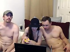 Threesome, Webcam bisex threesome mmf, Hclips.com