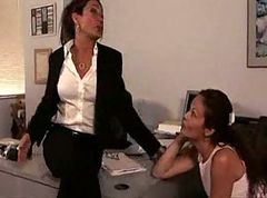 Office, Lesbian, Office meeting, Xhamster.com
