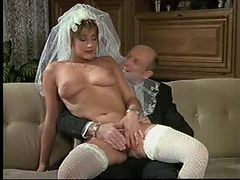 German, Bride, Wedding, Big tiss retro, Xhamster.com