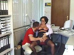Office, Unconscious office lady rapped getting her hairy, Gotporn.com