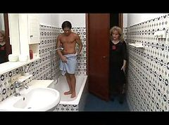Blonde, Shower, Mom and boy shower, Xhamster.com